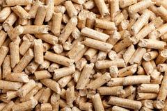 предпосылка pellets древесина Стоковые Фото