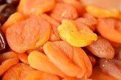 Предпосылка абрикосов апельсина высушенных Стоковая Фотография RF