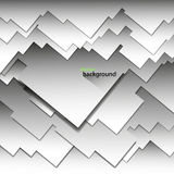 Предпосылка абстрактного вектора геометрическая светлого цвета в форме квадратов и прямоугольников Стоковые Изображения