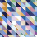 Предпосылка абстрактного геометрического вектора varicolored Стоковые Изображения RF