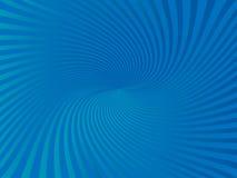 Предпосылка абстрактного голубого цвета накаляя Стоковая Фотография