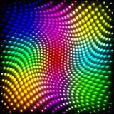 Предпосылка абстрактного спектра темная с покрашенными sparkles иллюстрация вектора