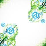 Предпосылка абстрактного cogwheel технологическая Стоковые Фотографии RF