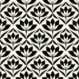 Предпосылка абстрактной картины обоев сбора винограда геометрической безшовная Стоковое Изображение RF