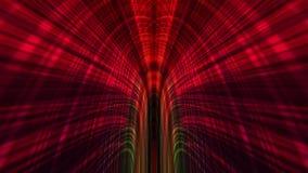 Предпосылка абстрактной технологии, компьютерная графика, кабель виртуального пространства Стоковое Фото