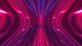 Предпосылка абстрактной технологии, компьютерная графика, кабель виртуального пространства Стоковая Фотография