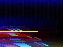 Предпосылка абстрактной технологии с космосом экземпляра Стоковое Фото