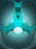 Предпосылка абстрактной технологии. Стоковые Фотографии RF