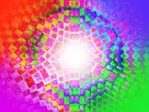 Предпосылка абстракции красочная для художественных произведений дизайна Стоковое Изображение RF