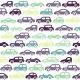 Предпосылка автомобилей Doodle Стоковое Фото