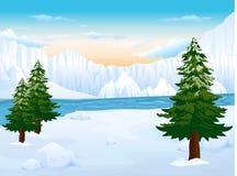 Предпосылка айсберга Стоковое Фото