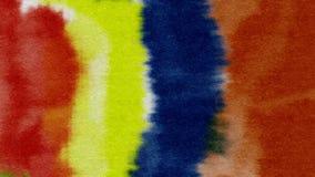 Предпосылка акварели абстрактная текстурирует красочную картину Стоковое Изображение RF