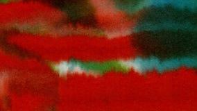 Предпосылка акварели абстрактная текстурирует красочную картину Стоковые Изображения