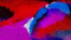 Предпосылка акварели абстрактная текстурирует красочную картину Стоковое Фото