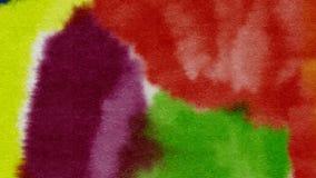 Предпосылка акварели абстрактная текстурирует красочную картину Стоковая Фотография