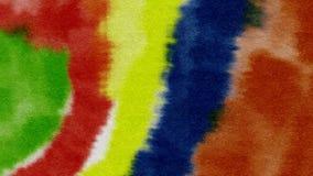 Предпосылка акварели абстрактная текстурирует красочную картину Стоковые Фото