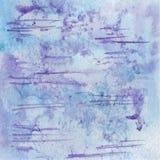 Предпосылка акварели акварели растра абстрактная, абстрактная текстура акварели Изображение вручную элемент конструкции рождества Стоковые Фото