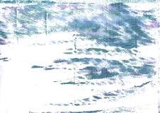 Предпосылка акварели певтера голубая абстрактная Стоковое Изображение RF