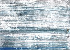 Предпосылка акварели Weldon голубая абстрактная Стоковые Изображения RF