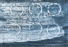 Предпосылка акварели Weldon голубая абстрактная Стоковая Фотография RF