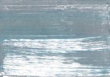 Предпосылка акварели Weldon голубая абстрактная Стоковая Фотография