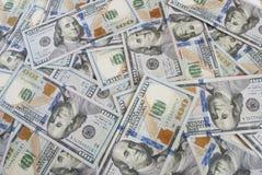 Предпосылка американских счетов долларов Стоковая Фотография