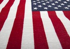 Предпосылка 1 американского флага Стоковые Фотографии RF