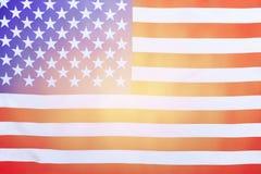 Предпосылка американского флага Стоковые Изображения
