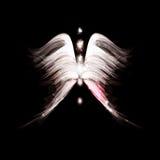 предпосылка ангела футуристическая Стоковое фото RF
