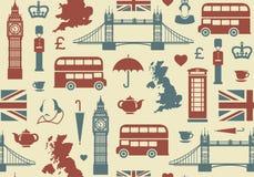 Предпосылка Англии Стоковые Изображения
