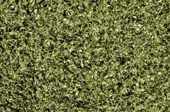Предпосылка алюминиевой фольги, зеленая Стоковая Фотография