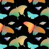 Предпосылка бабочек иллюстрация вектора