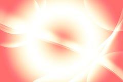 Предпосылка батика, красный цвет, белизна, оранжевые линии и формы Стоковые Фотографии RF