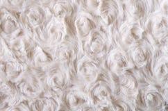 Предпосылка - беж искусственного меха текстуры Стоковая Фотография RF