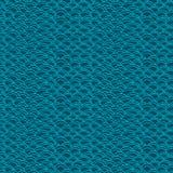 Предпосылка безшовного конспекта вектора нарисованная вручную Волны бесплатная иллюстрация