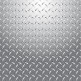 Предпосылка безшовные 2 металла текстуры Стоковое Изображение