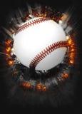 Предпосылка бейсбола Стоковые Изображения
