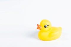 Предпосылка белизны om утки ванны Стоковое Изображение RF