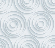 Предпосылка белой бумаги безшовная Стоковые Изображения RF