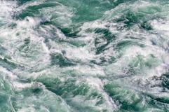 Предпосылка белой воды Стоковое Фото