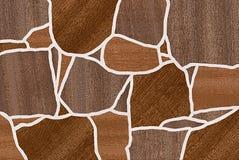 Предпосылка Брайна деревянная абстрактная безшовная Стоковые Изображения RF