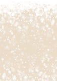 Предпосылка бумаги зимнего отдыха золота Стоковые Изображения