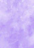 Предпосылка бумаги текстуры акварели чернил фиолетовая Стоковые Изображения RF