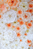 Предпосылка бумаг-складывая цветка Стоковые Изображения RF