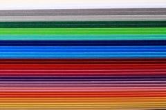Предпосылка бумаг цветов Стоковая Фотография