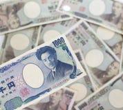 1.000 японских иен Стоковые Изображения