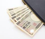 Японские иены Стоковые Фото