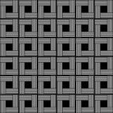 Предпосылка вектора абстрактная геометрическая безшовная Стоковые Изображения RF