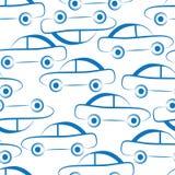 Предпосылка вектора автомобиля безшовная иллюстрация вектора