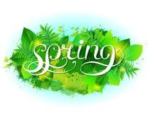 Предпосылка вектора весны бесплатная иллюстрация